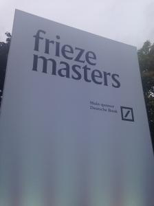 Frieze Masters Signage