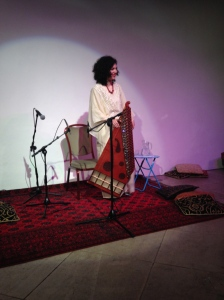Maya Youssef at St. Ethelburga's Centre for Reconciliation and Peace, London, UK