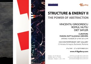 Exhibition Flyer - Source: http://www.418gallery.com/data/articles/Structure%20and%20energi.jpg