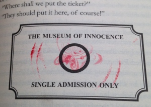 Ticket to The Museum of Innocence