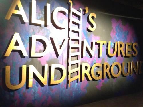 Alice's Adventures Underground (logo)